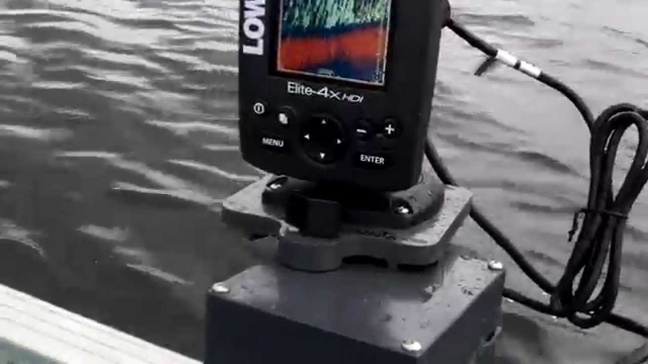 lowrance elite 4x hdi fish finder portable install on magnetic, Fish Finder