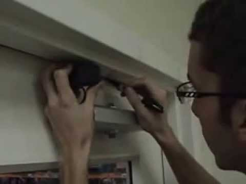 How to Install a Door Closer - Parallel Arm Installation Video ... How To Install Bat Door on blinds door, welcome door, privacy door, driver door,