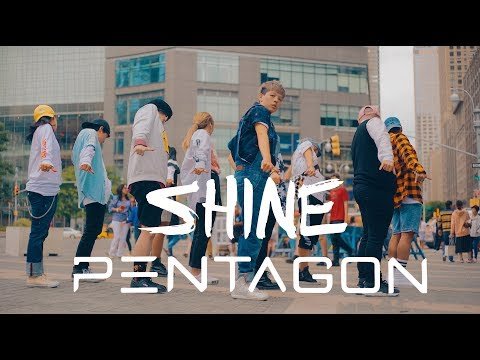 [KPOP IN PUBLIC CHALLENGE NYC] PENTAGON (펜타곤)   SHINE (빛나리)DANCE COVER By I LOVE DANCE