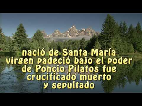 Credo a los Apostoles letra Jorge Álvarez Gaviria