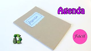 95. Manualidades: DIY Agenda (Reciclaje de papel) Ecobrisa