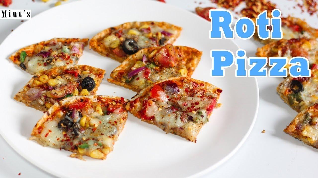Roti Pizza Recipe In Hindi Roti Recipe For Breakfast