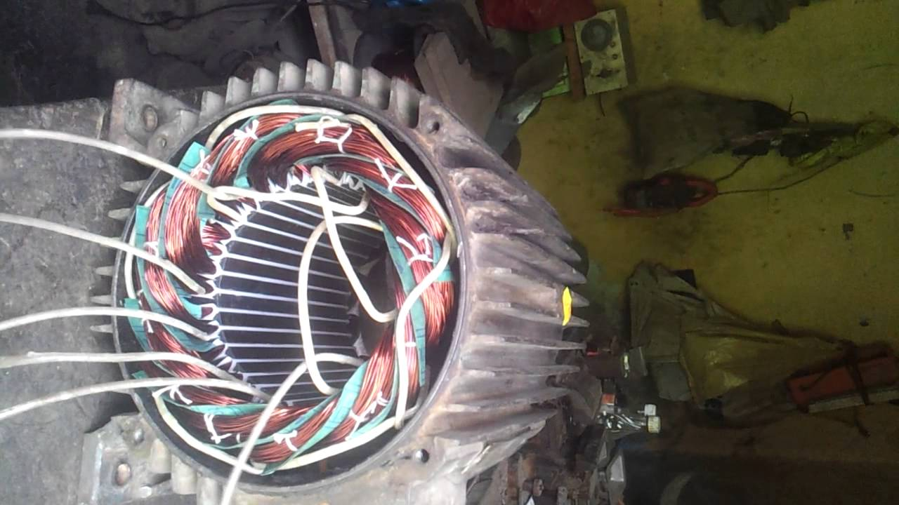 without joint connection three phase electric motor all in winding ...