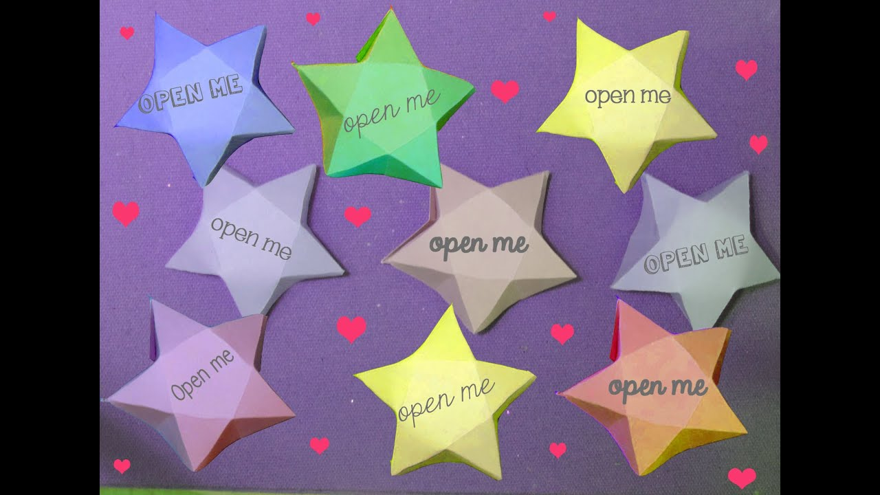Great Make Paper Star Fortunes (like Origami Stars)   YouTube