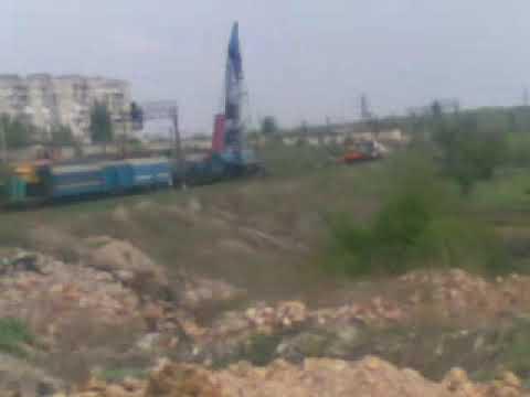 9 мая сошол поезд горловка 5 квартал 2013