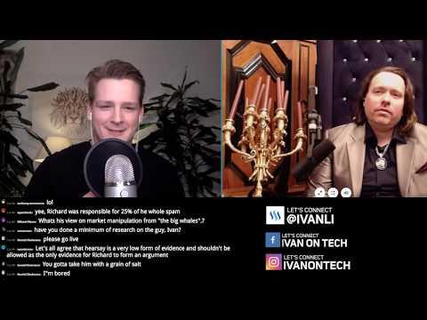 Ivan on Tech debates Richard Heart  Bitcoin, Ethereum, IOTA, Crypto Bubble, Tether, Satoshi