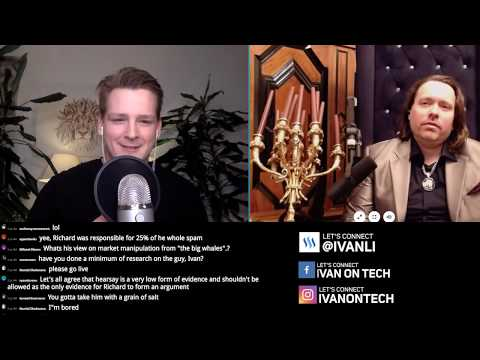 Ivan on Tech debates Richard Heart - Bitcoin, Ethereum, IOTA, Crypto Bubble, Tether, Satoshi