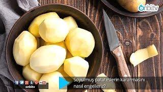 Patateslerin kararmasını nasıl engelleriz?