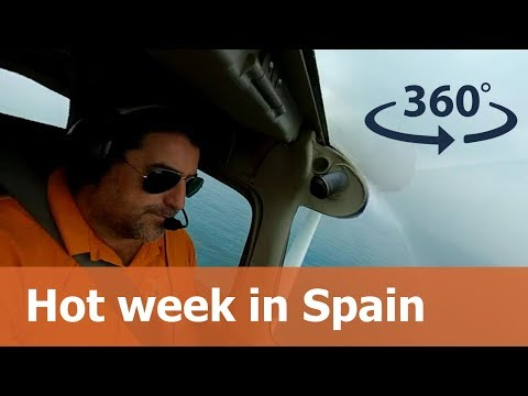 7 days in Spain - 360° Travel Video