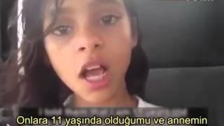 Dünya 11 yaşındaki bu kızı konuşuyor