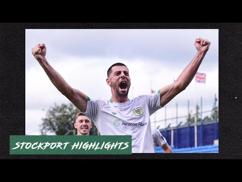 Stockport Yeovil Goals And Highlights