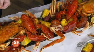 Black-owned seafood restaurant offers the largest seafood boil in Texas!