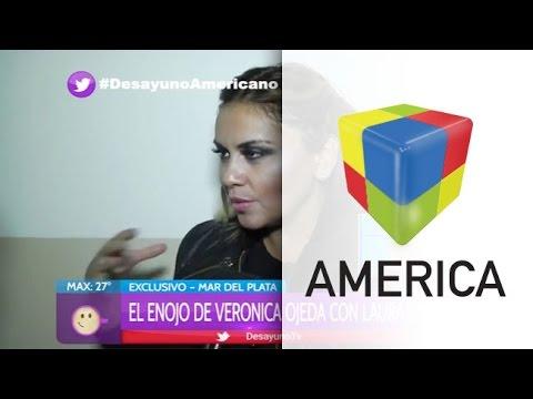 Verónica Ojeda se enojó por los rumores sobre el fallido encuentro entre Diego y su hijo