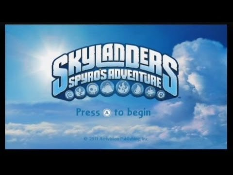 Skylanders: Spyro's Adventure Review (Wii)