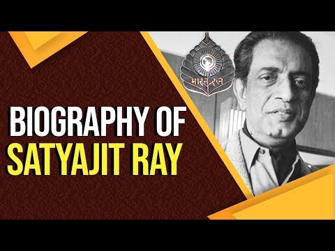 Biography of Satyajit Ray, One of the greatest filmmakers of the 20th century, #BharatRatna