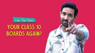 Can You Pass Your Class 10 Boards Again? | Ft. Vikrant Massey | Ok Tested