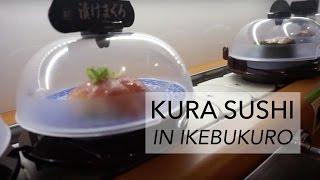 TOKYO VLOG 46  ❘ Kura Sushi in Ikebukuro