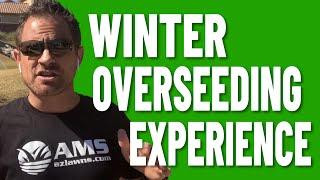 5 Weeks of Winter Overseeding Growth