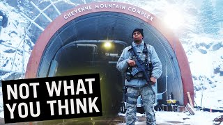 What's Hidden Inside Cheyenne Mountain? #shorts