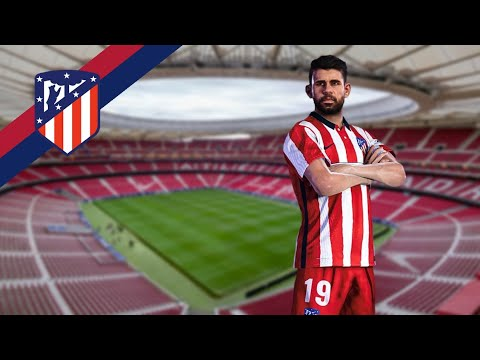 Atletico De Madrid 2020 21 Official 2nd Home Kit Pes 2020 Pes 2021 Youtube