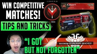 I GOT THE NOT FORGOTTEN! How to win Competitve matches! Tips and Tricks