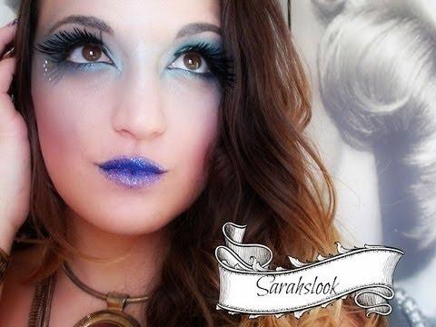 Maquillaje De Sirena Fantasia Imagui