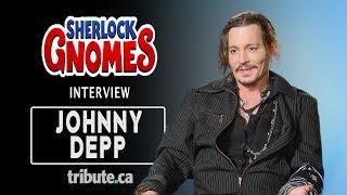 Johnny Depp - Sherlock Gnomes Interview
