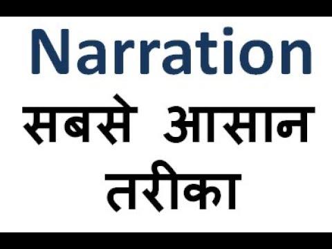 Narration PART-1 (MPSI ENGLISH CLASSES)-2017