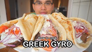 How to cook GREEK GYRO