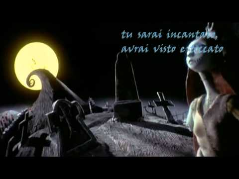 Nightmare Before Christmas - Re del blu, re del mai (Testo)