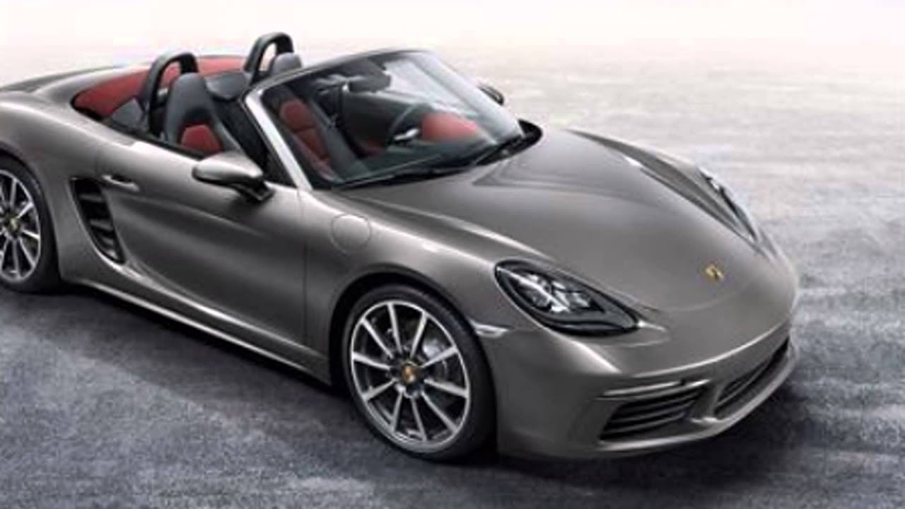 2016 porsche 718 boxster agate grey metallic youtube. Black Bedroom Furniture Sets. Home Design Ideas