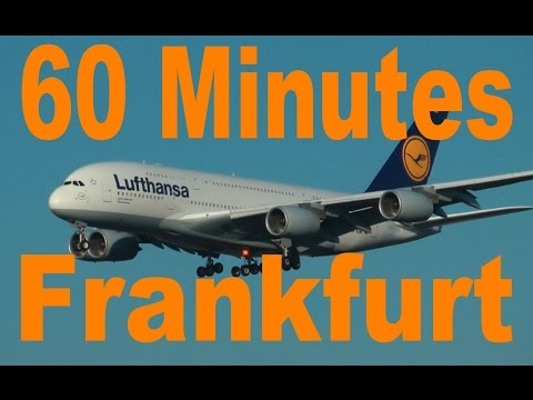 Frankfurt Airport FRA - 1 Hour Planespotting with 31 airlines, 41 airplanes, all-in-all 65 videos