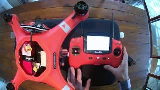 Déballage et mise en route du Splash Drone 3 de SwellPro