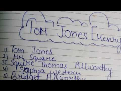 [HINDI] Tom Jones by Henry Fielding in Hindi