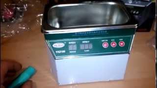 Overview ultrasonic bath YA XUN YX2100 part 1 .