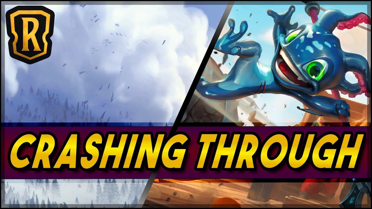 Crashing Through (Fizz Combo Deck) | Season of Fortune | LoR Game | Legends of Runeterra