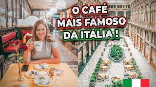 O CAFÉ ITALIANO MAIS FAMOSO DA ITÁLIA + MUSEU DO CAFÉ NA ITÁLIA