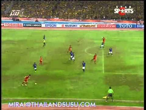 (HQ) Teerasil Dangda Goals against Malaysia (AFF Suzuki Cup 2012)