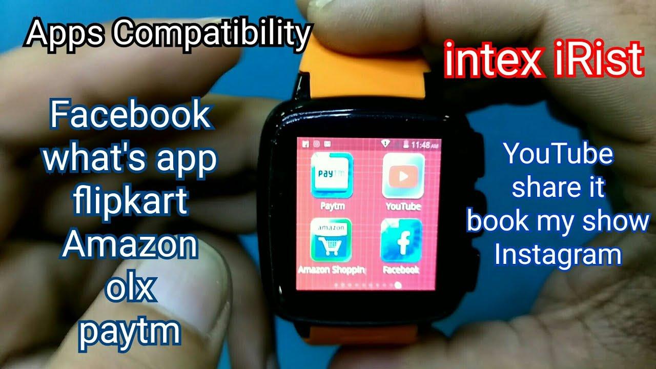 Intex Irist Smartwatch Games Videos Waoweo