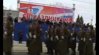 День защитника Отечества в Омске(Еще больше НОВОСТЕЙ на http://antenna7.ru/