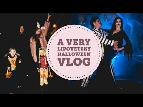 A Very Lipovetsky Halloween 2017 | Family Vlog | A Day In My Life