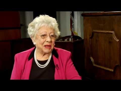 Dean Dorothy Nelson on Dean Judith McKelvey