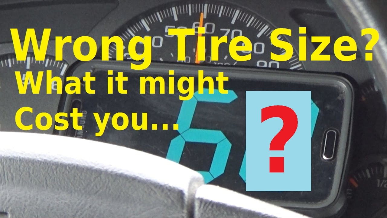 Tire Size Meaning >> Wrong Tire Size What Does It Mean Automotive Education