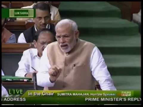 PM Shri Narendra Modi reply to discussion on the Motion of Thanks on the President's Address