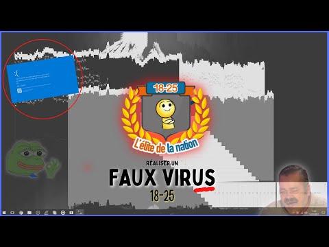 TUTO Faire un faux virus bien flippant (comme 18-25) REGARDER LA TUTO V4