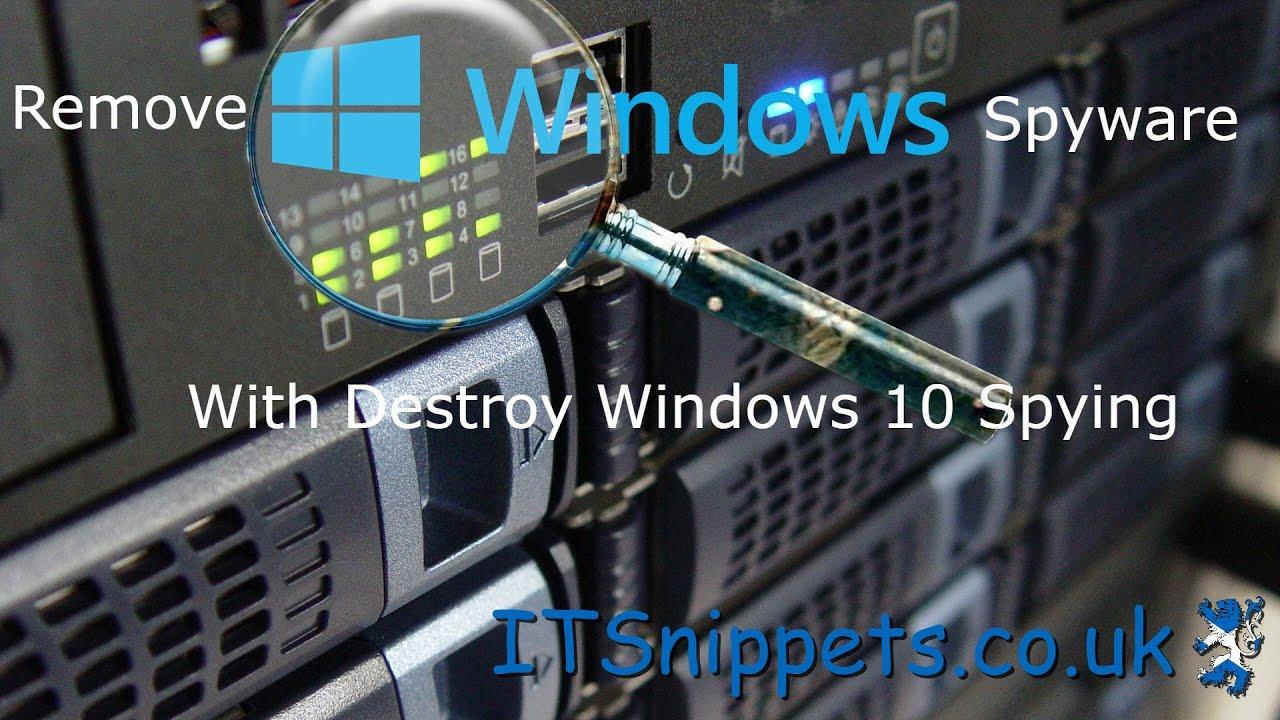 destroy windows spying 1.0.2.0