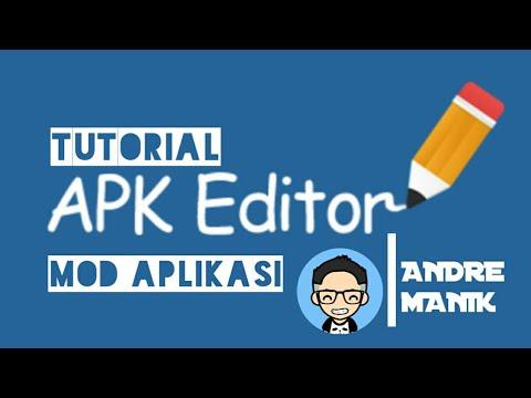 TUTORIAL MOD APLIKASI DENGAN APK EDITOR PRO 1