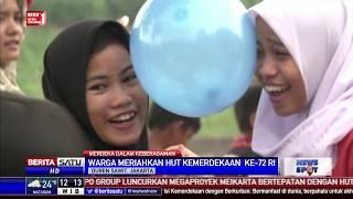 Lomba Joget Balon Warnai Perayaan Hari Kemerdekaan Di Banjir Kanal Timur