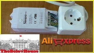 """""""Очень умная"""" розетка. Посылка с AliExpress: Wi-Fi коммутатор ITEAD Sonoff Pow для """"умного дома""""."""