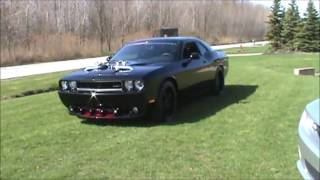 Twin Turbo SRT8 Challenger Cruizin and Burnout built by RDP Motorsport